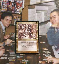 Magic MTG Legends Sir Shandlar of Eberyn NM / M Uncommon Set Builder English