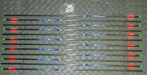 New, Carbon Storm 350 Spine Arrows- 8.3 GPI - Cut & Insert Av- Easton/Beman