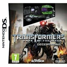NDS DSI Spiel Transformers 3 - Dark of the Moon - Decepticons Edition + Auto NEU