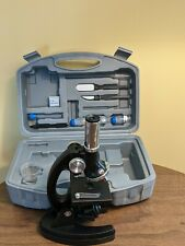 Student Metal Arm Kids Monocular Bio Microscope Kit Used
