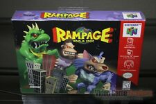 Rampage: World Tour (Nintendo 64, N64 1997) FACTORY SEALED! - EXCELLENT! - RARE!