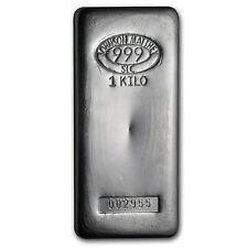 1 kilo Silver Bar - Johnson Matthey (SLC) - SKU #85203