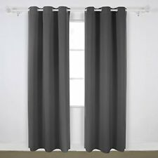 Deconovo Room Darkening Thermal Insulated Blackout Grommet Window Curtains