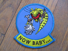 vintage Desert Storm US Navy Now Baby Hornet Squadron patch