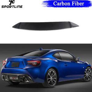 Carbon Fiber Rear Trunk Spoiler Wing For Toyota 86 Subaru BRZ Scion FR-S 2012-17