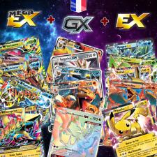 Lots de cartes Pokemon neuves GX MEGA EX ESCOUADE brillantes en français Cadeau
