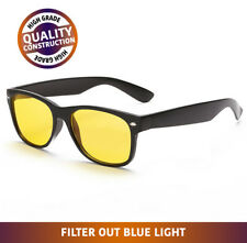 Blue Light Blocking Gaming Glasses Anti-UV Glare Stop Strain Eye Fatigue NEW