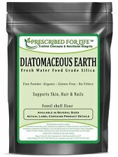 Diatomaceous Earth - Fresh Water Food Grade Silica (Fossil shell flour), 1 kg