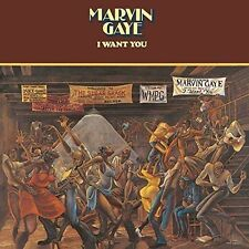 Marvin Gaye I Want You LP 9 Track 180 Gram Vinyl Back to Black Repress With Dow