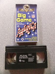 L#60 Big Game America: A Review of the First 50 Years of NFL History video, VHS
