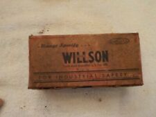 VINTAGE ADVERTISING WILLSON  GOGGLE BOX