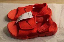 Nike Sunray Adjust 4 Boy's Sandals in Red (Big Kids) 386518-603
