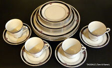 4 X 5 = 20 Piece Set NORITAKE ivory china ETIENNE pattern ~ Dinner for 4 or 8