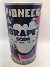 Pioneer Grape Pull Tab Soda Can - 12 Fl., Oz., - Carlstadt, NJ