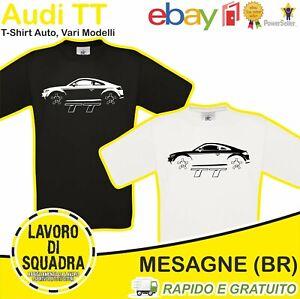 T-SHIRT - AUDI TT - Car Auto Motor Motori Automobile Idea Regalo Cars Luxury