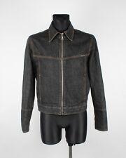Dolce & Gabbana D&G Jeans Men Denim Jacket Size Slim Fit L, Genuine