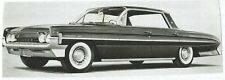 "Oldsmobile Super 88 "" "" Holiday Sedan 1961 Cabrio Werbefoto Auto Foto Photograph"