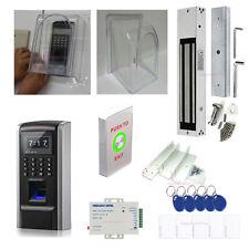 Weaterproof Fingerprint Control System kits ZL Bracket Piezoelectric Exit Butto