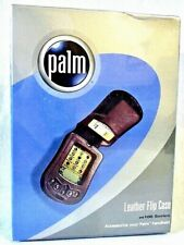 PALM PDA SOFT LEATHER FLIP CASE M100 SERIES BOXED SEALED NEW