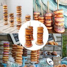 Wedding Decoration Donuts Wall Wooden Holds Stand Dessert Doughnut TableBDSU