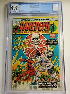 Daredevil 121 CGC 9.2 Hydra Black Widow Nick Fury Gil Kane cover Marvel 1975