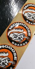 5 MONGOOSE BMX Skateboard Mad Max Stranger Things Stickers