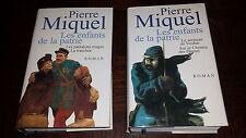 LES ENFANTS DE LA PATRIE - 2 tomes - Roman - Pierre Miquel 2002-2003
