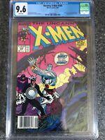 UNCANNY X-MEN #248 CGC 9.6. 1st Jim Lee Newsstand Marvel 8/89
