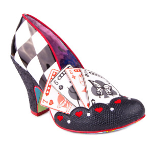 Winning Hand Irregular Choice Playing Cards Vegas Shoes Heels Dice