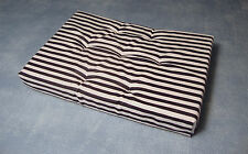 1:12 Scale Striped Double Mattress Tumdee Dolls House Miniature Bedroom 2256
