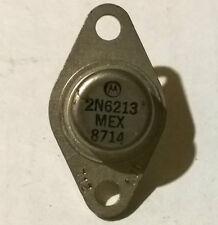TRANSISTOR HAUTE TENSION - 2N6213 - TO66 - 350V 1A - MOTOROLA