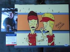 Mike Judge Rare! signed Beavis & Butthead 11x14 photo PSA/DNA cert PROOF!!