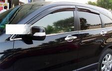 Acrylic Mugen Style Window Vent Visor For 07-11 Honda CRV CR-V
