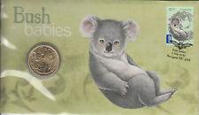 More details for australia 2011 pnc bush babies koala postal numismatic cover 1v $1 coin