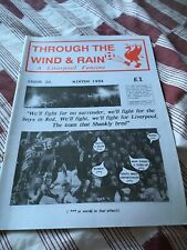 Through The Wind & Rain #20 1994 Liverpool FC Fanzine