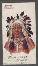 1906 E230 Lowney's Indian Chief Post Card #2