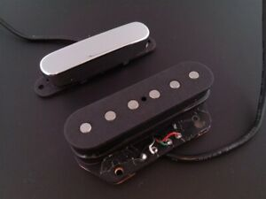 True Custom Shop® Vintage Stacked Tele Neck & bridge Noiseless No Hum Pickup Set