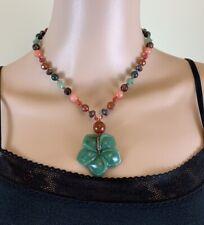 Rachel Reinhardt multicolored gemstone necklace