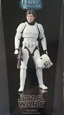 Sideshow Star Wars Heroes of the Rebellion Luke and Han stormtrooper New