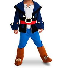 NEW Disney Store Jake and the Never Land Pirates Costume sz 4 NWT