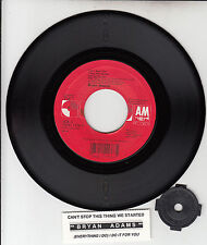 """BRYAN ADAMS  Can't Stop This Thing & (Everything I Do) I Do It For You 7"""" 45"""