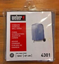 Weber Standard Charcoal 18 1/2 inch vinyl Grill Cover model 4301 47cm