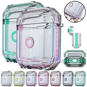 For Apple AirPods 2nd Generation Charging Case Clear TPU Protective Cover Shell