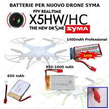 BATTERIA potenziata SYMA NUOVO DRONE X5HW HC BLOCCO ALTEZZA HEADLESS  drone WIFI