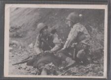 "[67873] 1963 DONRUSS COMBAT TRADING CARD #57 ""DEATH OF A FRIEND"" - SERIES 1"