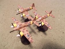 Flames of War 15mm, 1/144 Scale painted German HS-129 Aircraft (3)