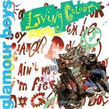 "LIVING COLOUR Glamour Boys 7"" Single Vinyl Record 45rpm Epic 1988 EX"