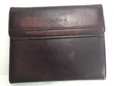 Giorgio Bernini Soft Brown Leather Notebook Journal Book Cover Sleeve