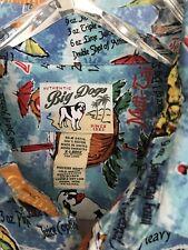 Men's BIG DOGS Hawaiian Shirt Sz L Great Colors, Drink Recipes Design