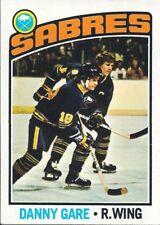DANNY GARE 1976-77 ToppsHockey Card NM-MT #222 Buffalo Sabres NHL Vintage